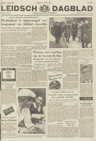 Leidsch Dagblad 1959-04-10