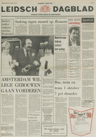 Leidsch Dagblad 1980-03-27