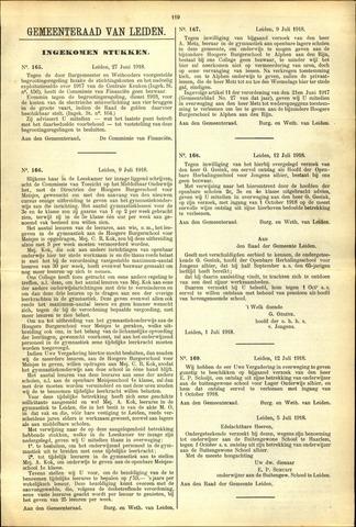 Handelingen van de Raad 1918-06-27