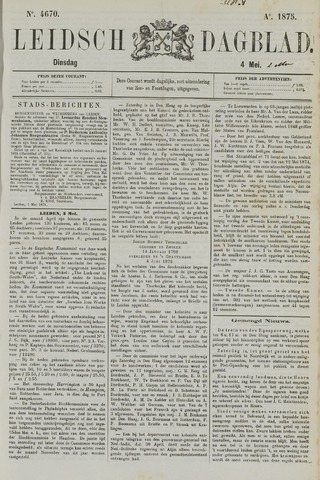 Leidsch Dagblad 1875-05-04