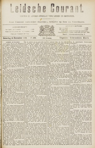 Leydse Courant 1889-11-16