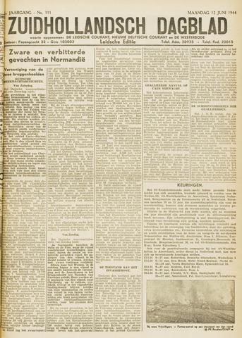 Zuidhollandsch Dagblad 1944-06-12