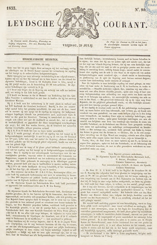 Leydse Courant 1853-07-29