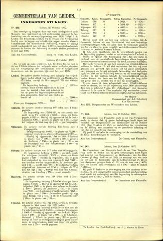 Handelingen van de Raad 1897-10-25
