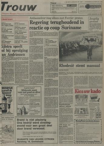 Nieuwe Leidsche Courant 1980-02-28