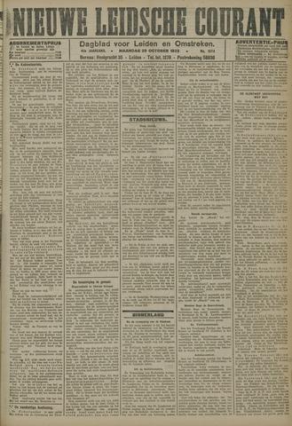 Nieuwe Leidsche Courant 1923-10-29