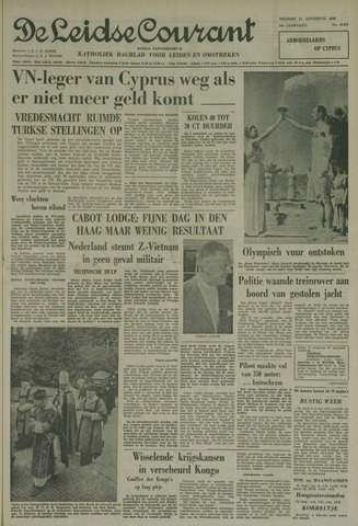 Leidse Courant 1964-08-21