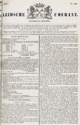 Leydse Courant 1871-08-12