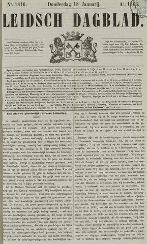Leidsch Dagblad 1866-01-18