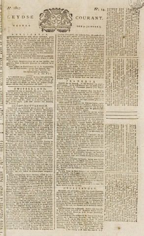 Leydse Courant 1817-01-31