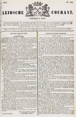 Leydse Courant 1871-06-21
