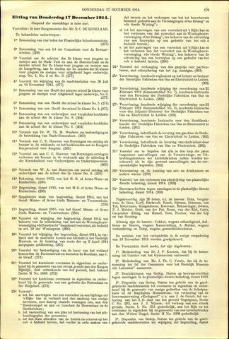 Handelingen van de Raad 1914-12-17