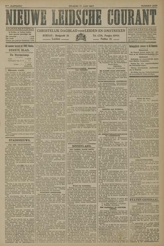 Nieuwe Leidsche Courant 1927-06-17