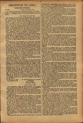 Handelingen van de Raad 1894-09-13