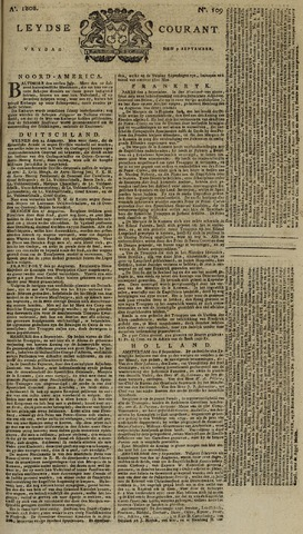 Leydse Courant 1808-09-09