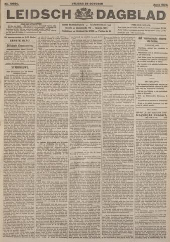Leidsch Dagblad 1923-10-26
