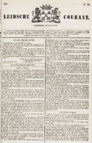 Leydse Courant 1877-01-24