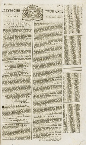 Leydse Courant 1826-01-11