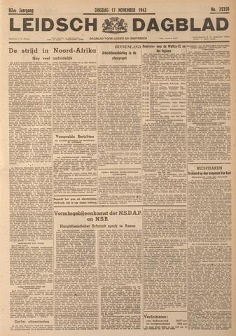 Leidsch Dagblad 1942-11-17