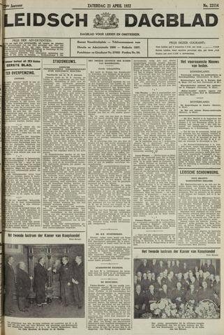 Leidsch Dagblad 1932-04-23