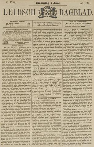 Leidsch Dagblad 1885-06-01