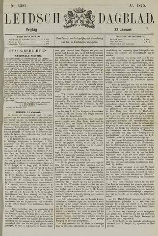 Leidsch Dagblad 1875-01-22