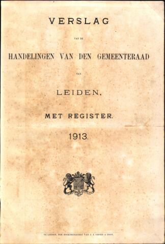 Handelingen van de Raad 1913-01-01