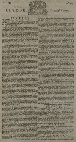 Leydse Courant 1739-12-28