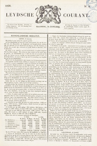 Leydse Courant 1850-01-14