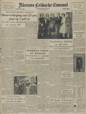 Nieuwe Leidsche Courant 1957-02-01