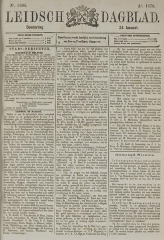 Leidsch Dagblad 1878-01-24