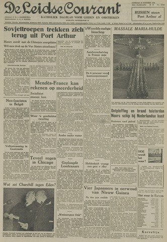 Leidse Courant 1954-10-12