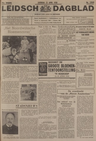 Leidsch Dagblad 1938-04-23