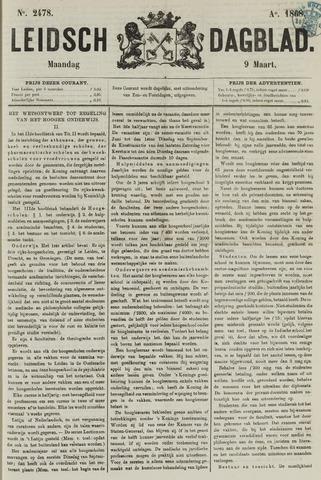 Leidsch Dagblad 1868-03-09