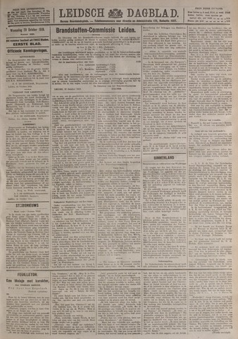 Leidsch Dagblad 1919-10-29