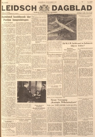 Leidsch Dagblad 1949-11-10