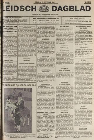 Leidsch Dagblad 1933-12-05
