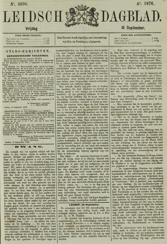 Leidsch Dagblad 1876-09-15