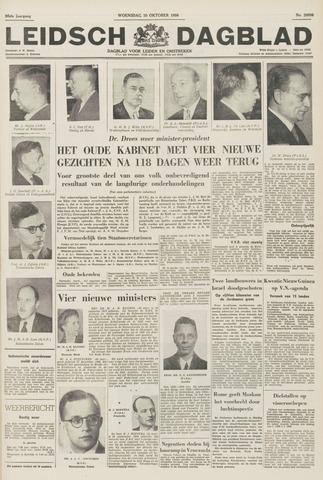 Leidsch Dagblad 1956-10-10