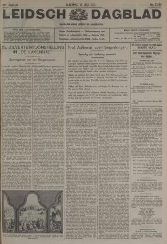 Leidsch Dagblad 1935-07-27