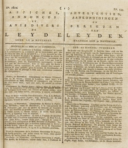 Leydse Courant 1812-11-30
