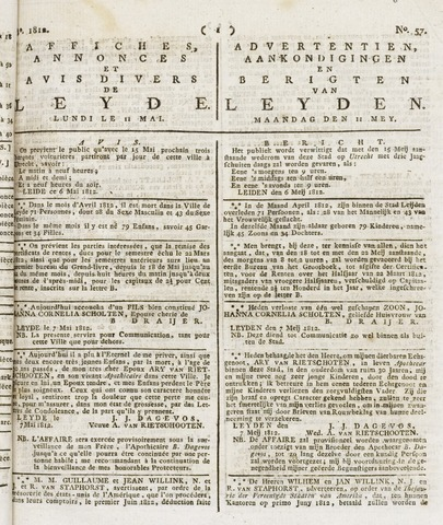 Leydse Courant 1812-05-11