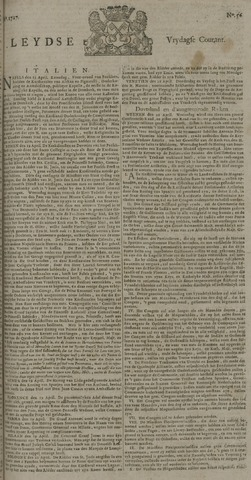 Leydse Courant 1727-05-09