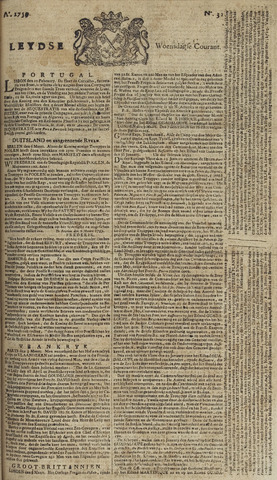 Leydse Courant 1759-03-14