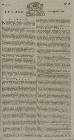 Leydse Courant 1736-04-20