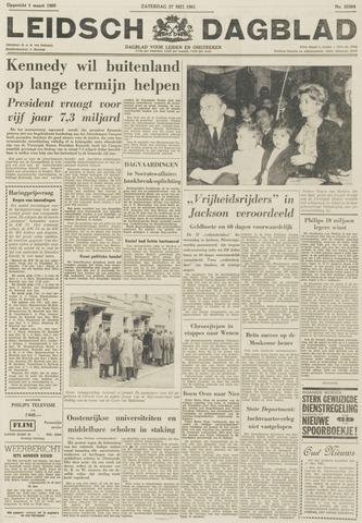 Leidsch Dagblad 1961-05-27