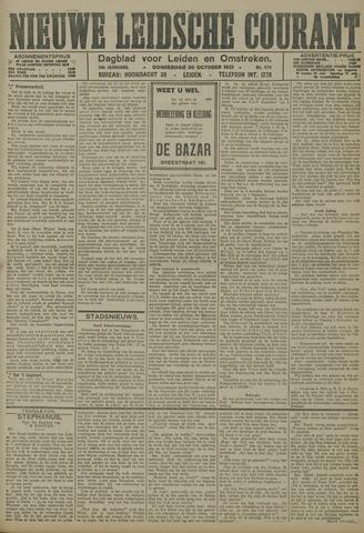 Nieuwe Leidsche Courant 1921-10-20