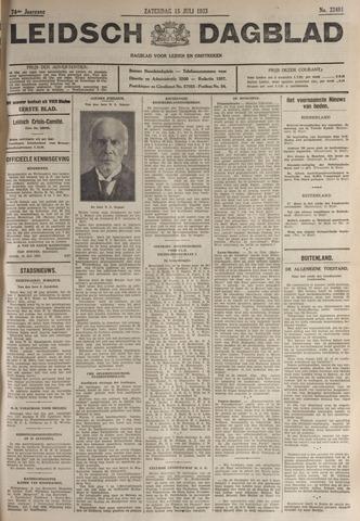 Leidsch Dagblad 1933-07-15