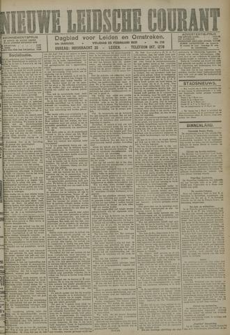 Nieuwe Leidsche Courant 1921-02-25