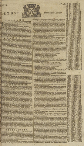 Leydse Courant 1754-07-01